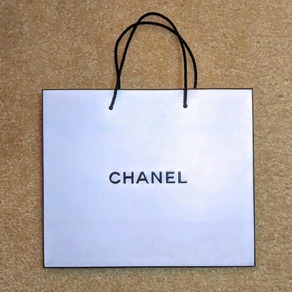 cabe29ddc438 CHANEL Other | Authentic Gift Bag With Rope Handles | Poshmark